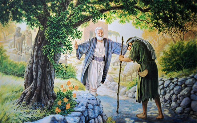 jesus christ prodigal son