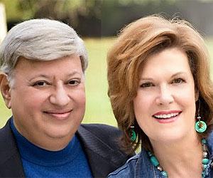 Mahesh and Bonnie Chavda