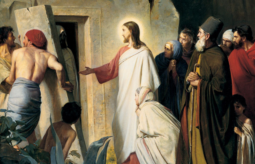 jesus raised larazus from the dead