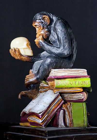 proof evolution statue