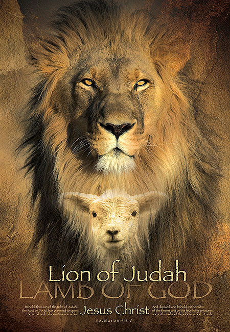 christian religious posters lion judah