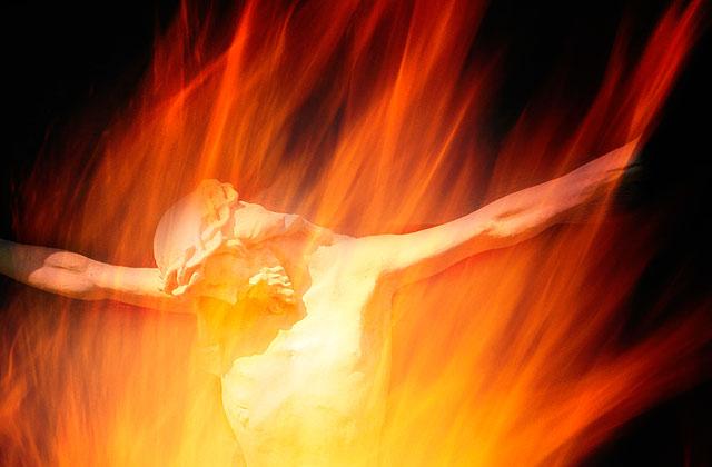 fire of god jesus
