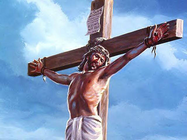 pictures jesus cross suffering
