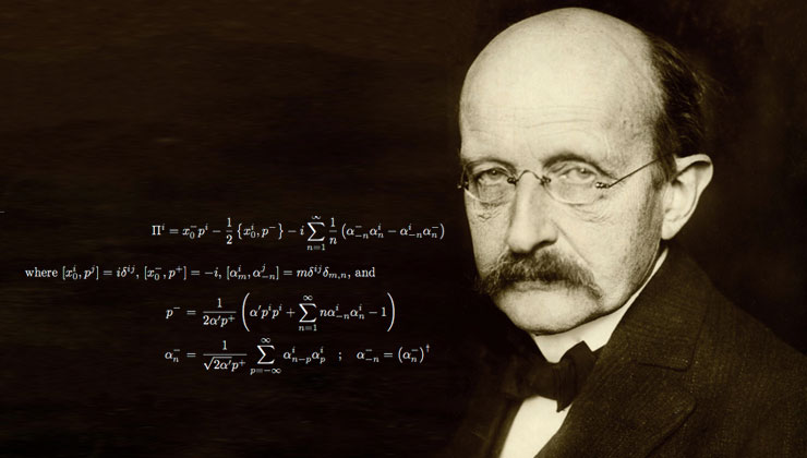 scientific proof god max planck