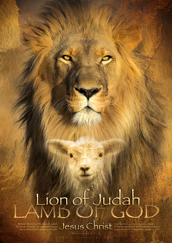 christian poster lion of judah