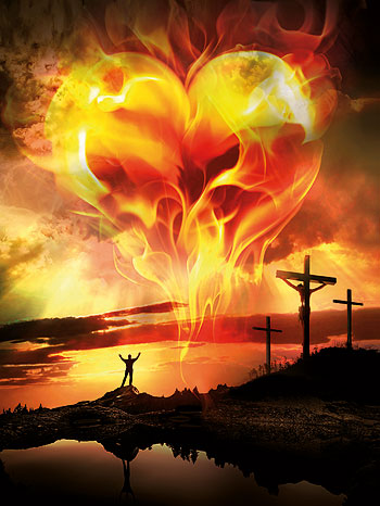 fire of god love