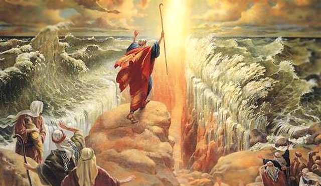 names of god - moses red sea
