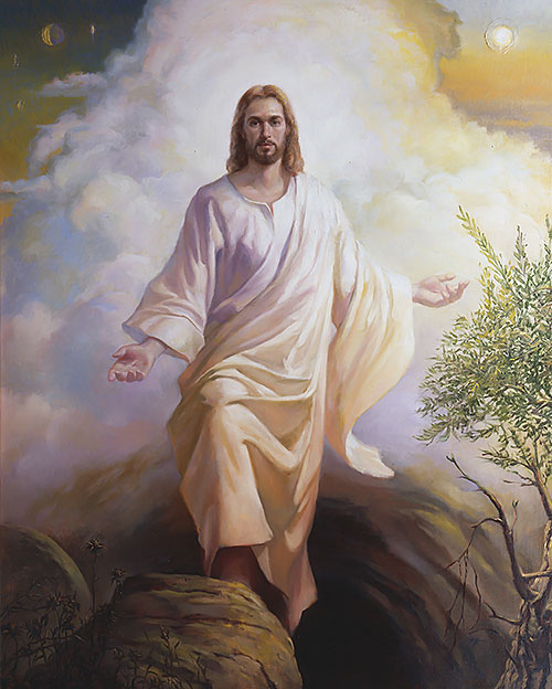 picture jesus resurrection