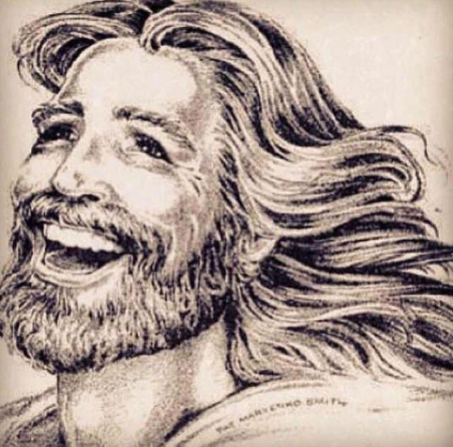 picture jesus smiling