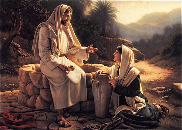 pictures jesus samarithan woman