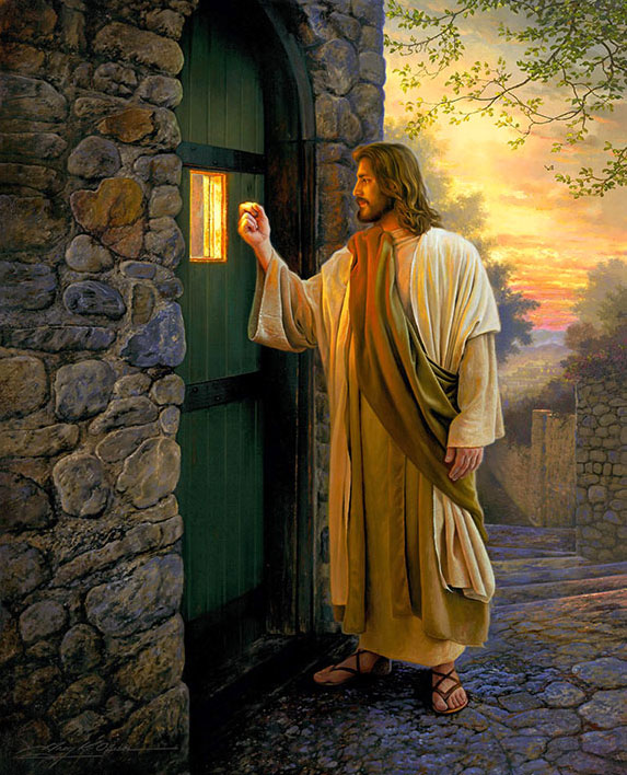 pictures of jesus greg olson door