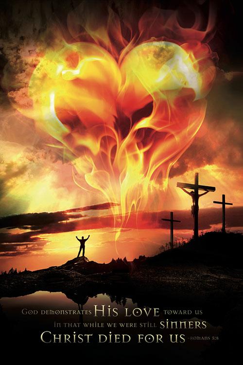 god loves you poster