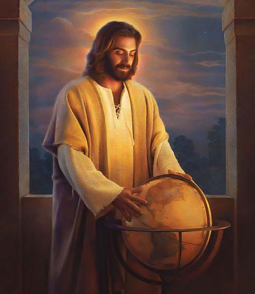 names jesus christ bible globe
