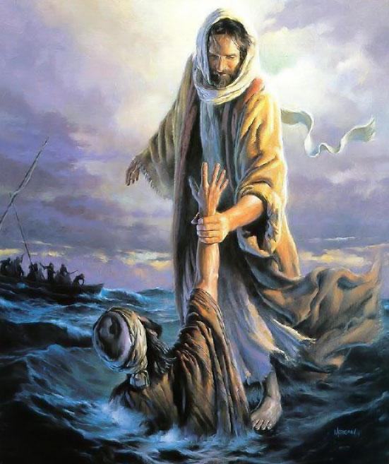 god images jesus peter