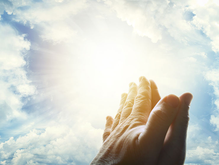 god images photos prayer worship hands heaven