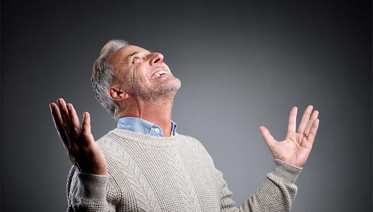 god images photos prayer worship old man