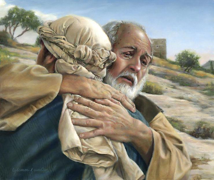 god images prodigal painting