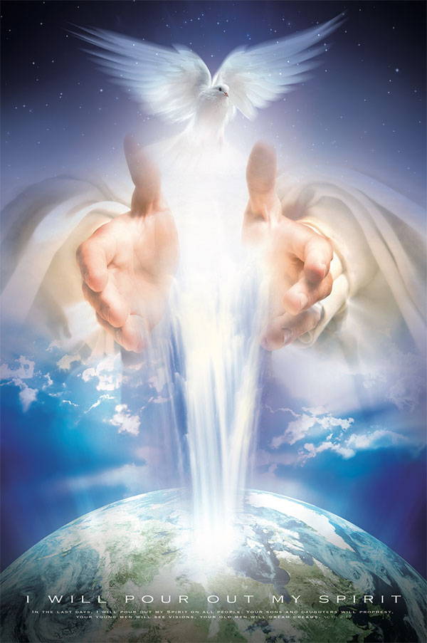 christian poster holy spirit