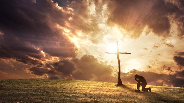 jesus christ cross prayer