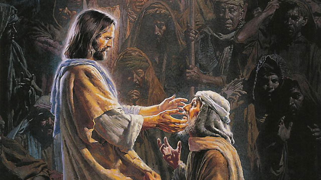 jesus christ heals the sick