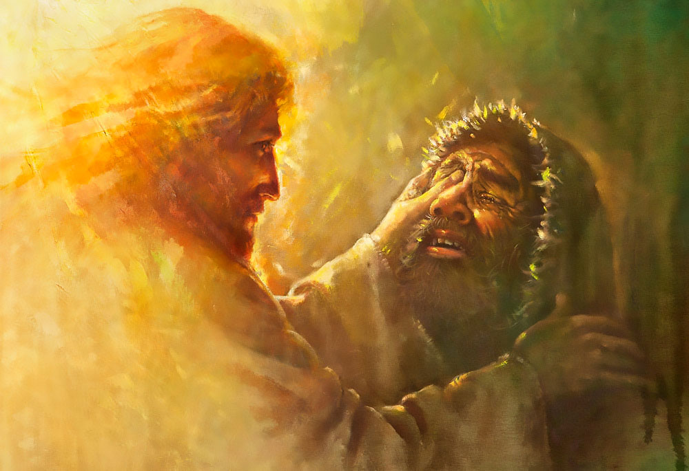 miracles Jesus - healing the blind