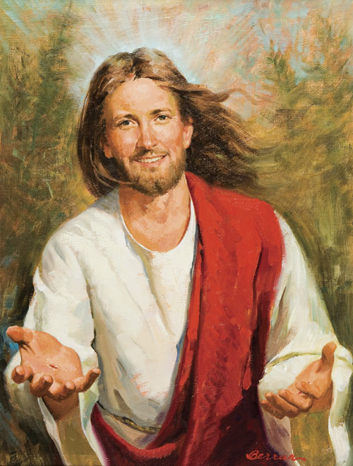 Image result for jesus inviting us