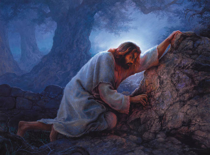 Image result for Jesus praying in gethsemane pics