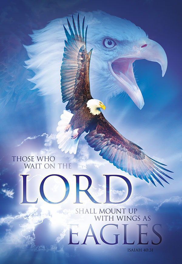 christian posters eagles wings