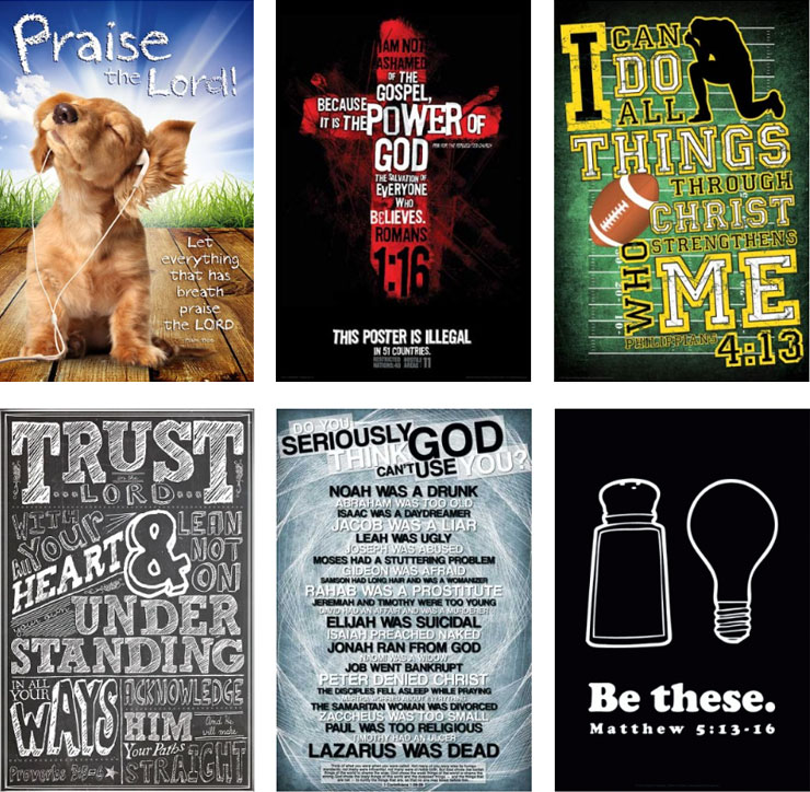 christian posters overview