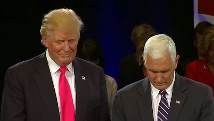 pray for Donald Trump