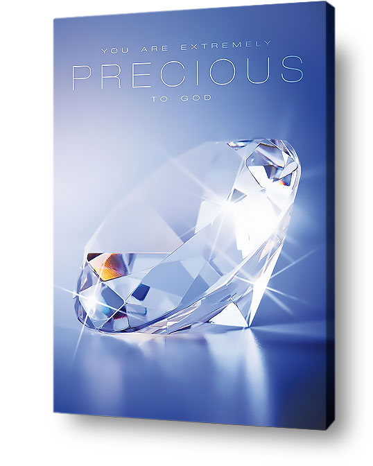christian wall art - precious to god