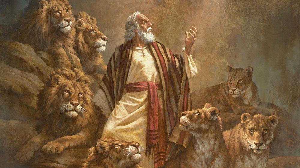 heaven hell worship Daniel den