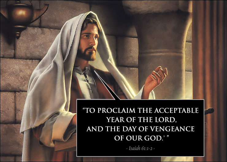 jesus quote vengeance goodness