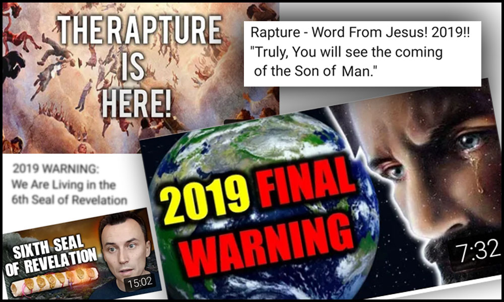 rapture false prophecies second coming of christ