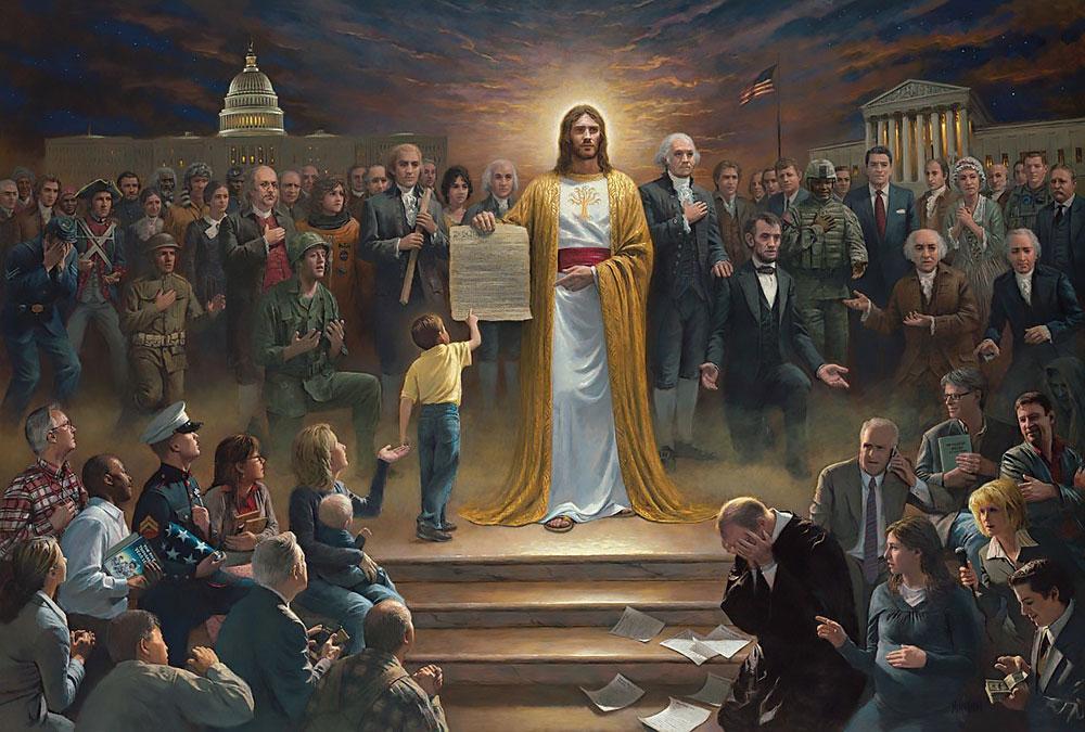 Jesus christ rules the world